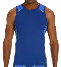 CALVIN KLEIN Mens COLORBLOCK Athletic Muscle Tank Top U8089 Size S-M-L