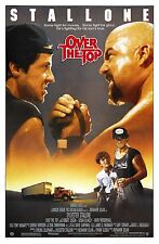 OVER THE TOP MOVIE POSTER Sylvester Stallone 1987 ARM WRESTLING