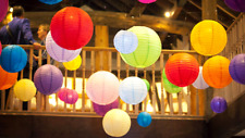 Chinese Paper Lanterns Lamp Shade Wedding Birthday Party Decoration All Size