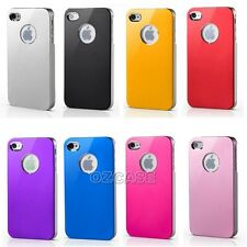 Aluminium Slim Hard Case Cover For Apple iPhone 5 5S + Screen Protector