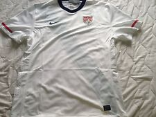 NWT Authentic Nike USA Soccer US Futbol White Mens 376187-105 Away Jersey