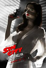 SIN CITY- A DAME TO KILL FOR  Movie Poster Comic Book BANNED Eva Green