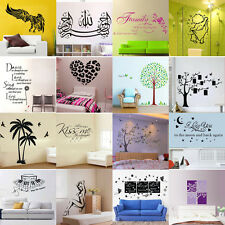 DIY Removable Vinyl  Art Quote Kids Wall Stickers Decal Home Room Decor