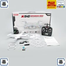 RC QUADRICOTTERO - DRONE Syma X5C - Camera HD, Video, Foto, RC 2,4 Ghz Mode2