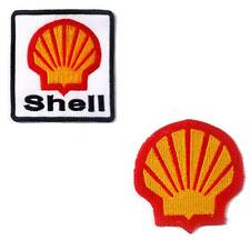 Patch SHELL Moto Gp Formula 1 Racing Sport iron sticker Oil Gas Diesel scooter