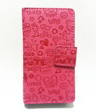 Lovely Cute Girl Leather Pouch Case Cover For HTC Wildfire S G13 A510e A510c