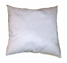 USA Handmade To Order Quality White Square Cotton Throw Pillow Inserts - 4 PACK