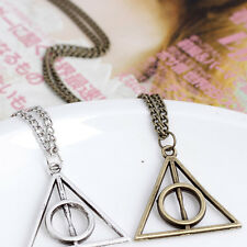 Hot Film Movie Happy potter Deathly Hallows Metal Necklace Pendant as Gifts