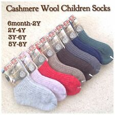Children Cashmere Wool Socks for Autumn or Winter + free shipping