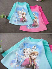 Frozen - T-Shirt vestito corto Manica lunga - Mini Dress Long Sleeves - A000201