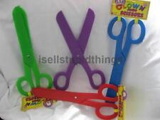 jumbo clown scissors plastic toy gag party huge gift costume circus accessory