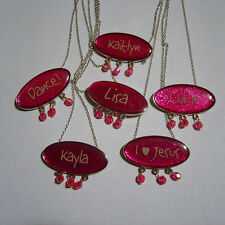 Cute, Personalized Necklace, Several to Choose From.