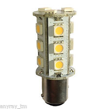 (1) 1157 BAY15D Dual Contact WW CW Color LED 40 41 42 50 Light Bulbs