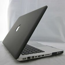 Black Matte Rubberized Hard Case Cover For Macbook Air Pro 11 13 15 inch Retina