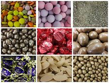 ASSORTED CHOCOLATE SWEETS (LOW POSTAGE, WE POST UP TO 600g FOR ONLY £1.30!)