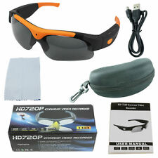 New Sport Spy Hidden Mini Camera Glasses HD 720p Design Video Camcorder Camera