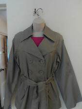 Womans/Ladies/TrenchCoat/Mac98%Cotton Perfect Autumn/Cool/Shower/Weather Wear!!