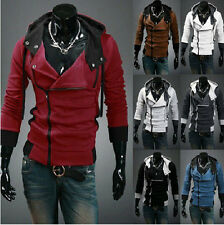 New Assassin's Creed III 3 Desmond Miles Cosplay Costume Hoodie Coats Jackets
