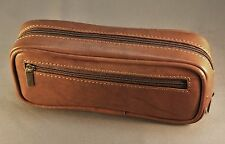 Premium Leather Diabetic Insulin Pen and Glucometer / Glucose Meter Case