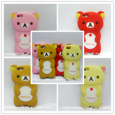 Rilakkuma Bear 3D Soft Silicon iPhone 5 Case * 4 Colours to choose from *