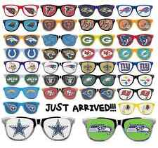 2014 **PICK YOUR TEAM** NFL FOOTBALL LOGO WAYFARER SUNGLASSES RETRO HAT T SHIRT