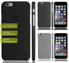 "Apple iPhone 6 (4.7"") UltraSlim 0,3 mm Matt Case Cover Bumper Schutz Hülle TPU"
