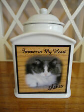 """Pet Memorial Urn """"Personalized"""", Cat, Dog, Furbaby, Add photo or poem, Name"""