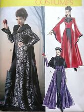 McCALL's M6818 ONCE UPON A TIME EVIL QUEEN HALLOWEEN COSTUME SEWING PATTERN 4-20