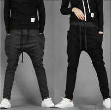 Mens Women Boys  Casual Sports Dance Harem Sweat Pants Baggy Jogging Trousers