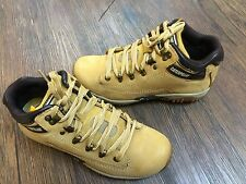 Caterpillar Mens Corax Hiker Boots 73519-Honey Leather Size 7-11 Authentic M