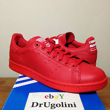 Adidas Consortium x Pharrell Williams Stan Smith size 6-14 red Solid Pack