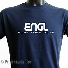 "ENGL T-SHIRT ""pure tube tone"" guitar amplification - ALL SIZES - 5 COLORS"