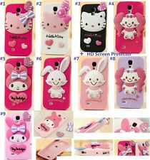 Cute Hello Kitty Melody Cartoon Soft Silicone Case for iPhone 6/6 Plus + Flim