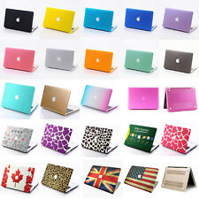 23 Color Matte Rubberized Hard Case Cover For MacBook Air Pro 11 13 15 '' inch