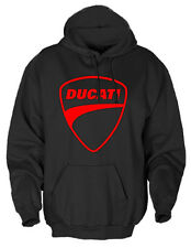 DUCATI Logo Graphic Hoodie - Bike Motorcycle Pullover m114