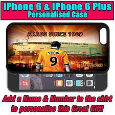 PERSONALISED DUNDEE UNITED iPHONE 6 & 6 PLUS UNOFFICIAL SILICONE BACK CASE