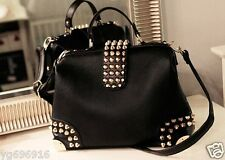 The new fashion trend of rivet portable shoulder diagonal cross bag