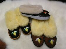 Authentic Regional 100% leather Polish Womens Slippers SIZE: US 5,6,7,8,9,10!!!