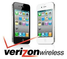 Apple iPhone 4 - 8GB (VERIZON) Smartphone - Black or White *Not GSM Unlocked*