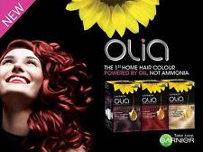 New Garnier Olia OIL-POWERED PERMANENT HAIRCOLOR MAXIMUM COLOR without Ammonia