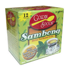 Golden Spoon Herbal Tea  Sambong Weight Loss Relief of Stomach Pains Colds