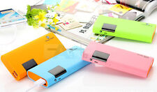 50000mAh External Battery Charger Dual USB Power Bank For Mobile Phone Iphone