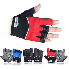 Breathable Men's Fitness Cycling Mitts Gym Sports Exercise Bike Bicycle Gloves