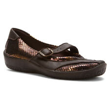 Arcopedico Women's L39 Mary Jane Water-Resistant Flat Shoes Bronze Metallic 4491