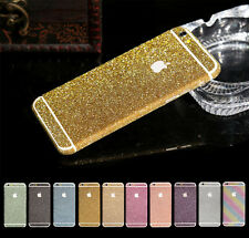 Fashion Bling bling sparkle sticker screen protector film for Apple iPhones