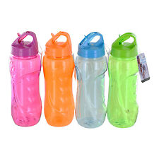 28-Ounce Personal Sports Reusable Beverage Water Bottle with Flip Straw
