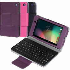 PU Leather Bluetooth Keyboard Case Cover for Google Nexus 7 FHD 2nd Gen 2013