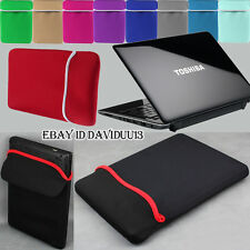 "Notebook Laptop Ultrabook Chromebook Bag Sleeve Case cover 11"" 13"" 15"" TOSHIBA"