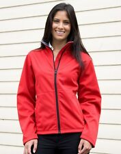 BARGAIN! RESULT R209F LADIES SOFT SHELL JACKET VARIOUS COLOURS/SIZES BRAND NEW
