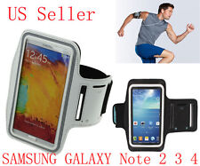 White Gym Outdoor Sport Running Arm band Case For Samsung Galaxy Note 4 N9001